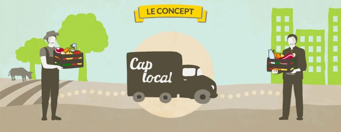 Un circuit court : Du producteur local au consommateur par Cap-local